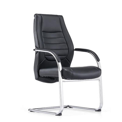 Meeting room conference hall office chair without wheels