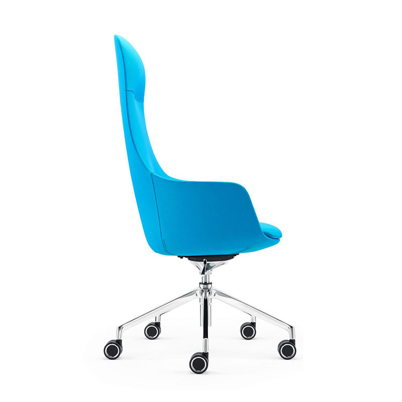 product-A1816 American Style Furniture High Back Leather Executive Swivel Office Chair-Furicco-img-1