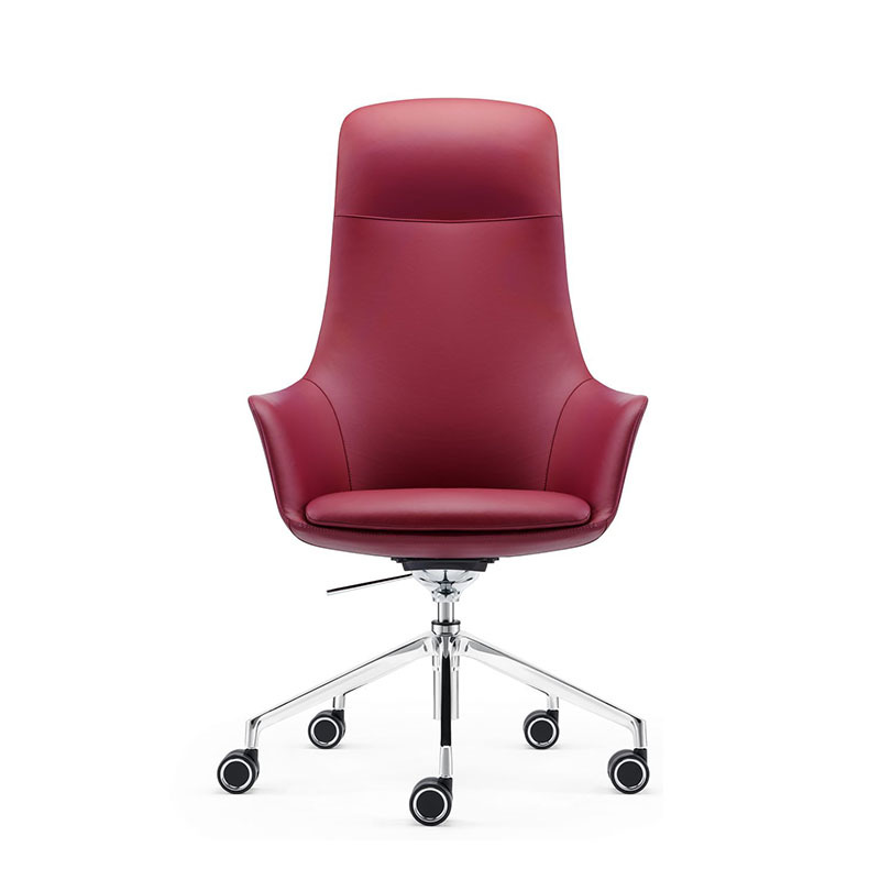 product-Furicco-A1816 American Style Furniture High Back Leather Executive Swivel Office Chair-img
