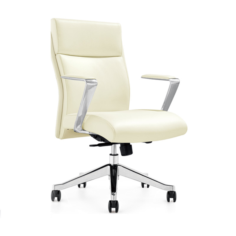 product-Furicco-B1511 Staff Office Chairs With Armrest Seat Leather-img