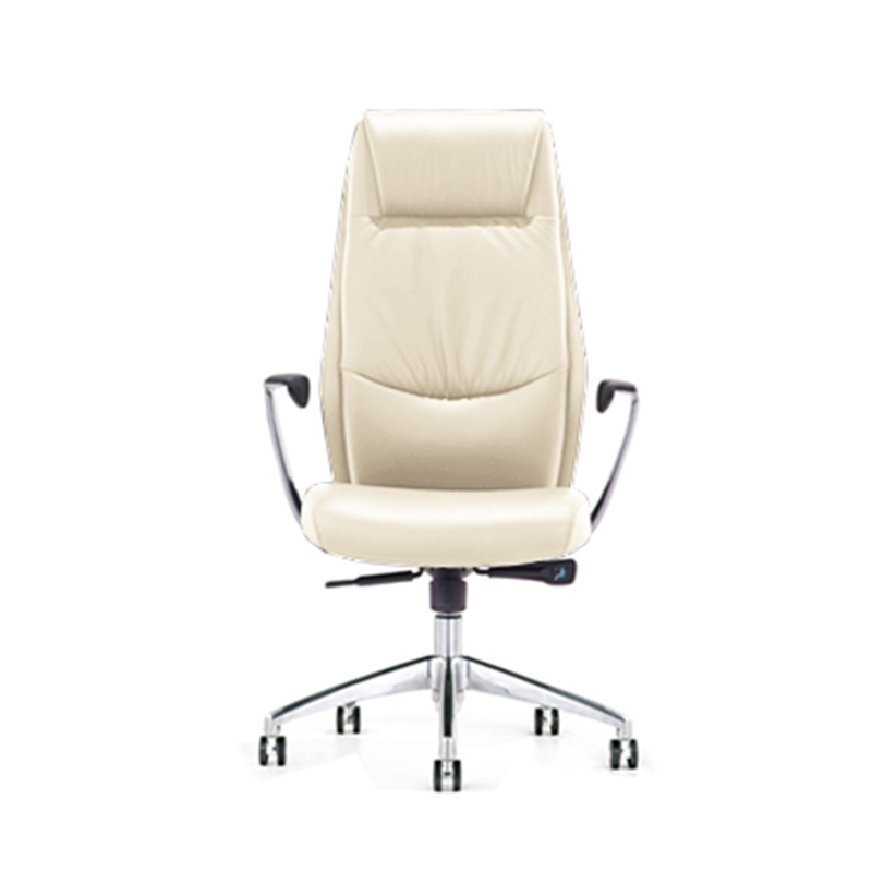 product-9184 Modern French Commercial High Back Executive Black Leather Swivel Office Chairs-Furicco-1