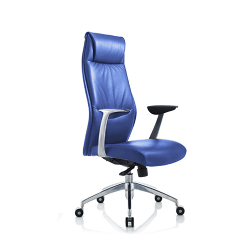 product-Furicco-9184 Modern French Commercial High Back Executive Black Leather Swivel Office Chairs