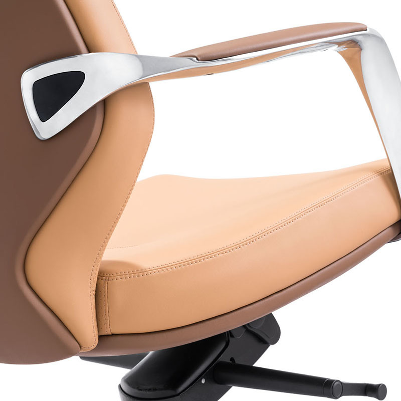 product-A1711 Modern Executive Office PU Leather High Back Chairs-Furicco-img-1
