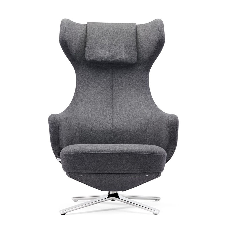 product-F1903 + T1903 Modern Cashmere Hotel Leisure Lounge Chairs With Locked Function-Furicco-img-1
