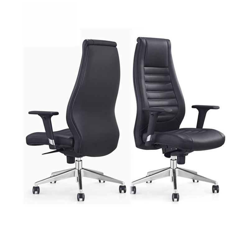 product-Furicco-cheap best foshan furniture manufacturer high back design revolving pu executive off