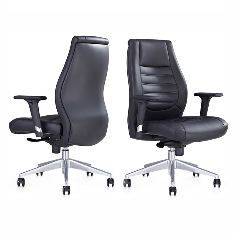 product-wholesale cheap mid-back office chair swivel with armrest B1802-Furicco-img-1