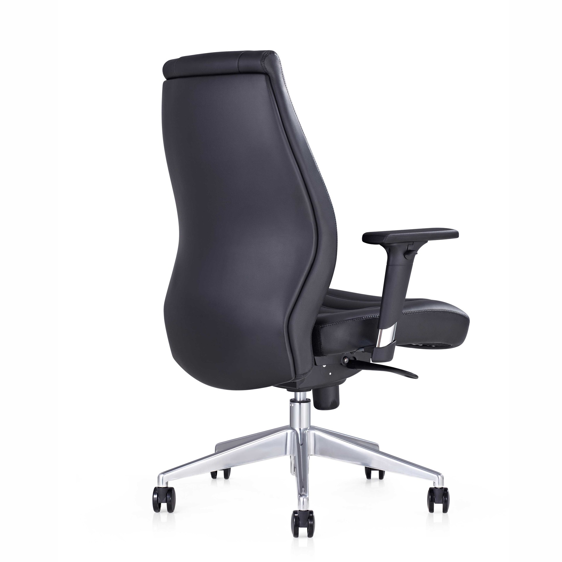 product-Furicco-wholesale cheap mid-back office chair swivel with armrest B1802-img