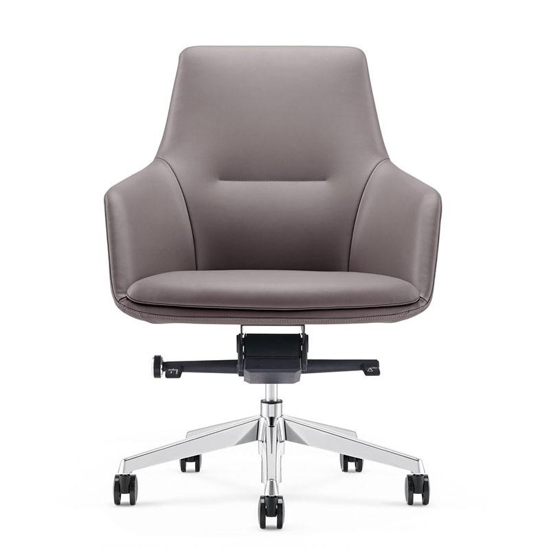 product-Superior Ergonomic Reclining Staff PU leather Office Chair B1908-Furicco-img-1