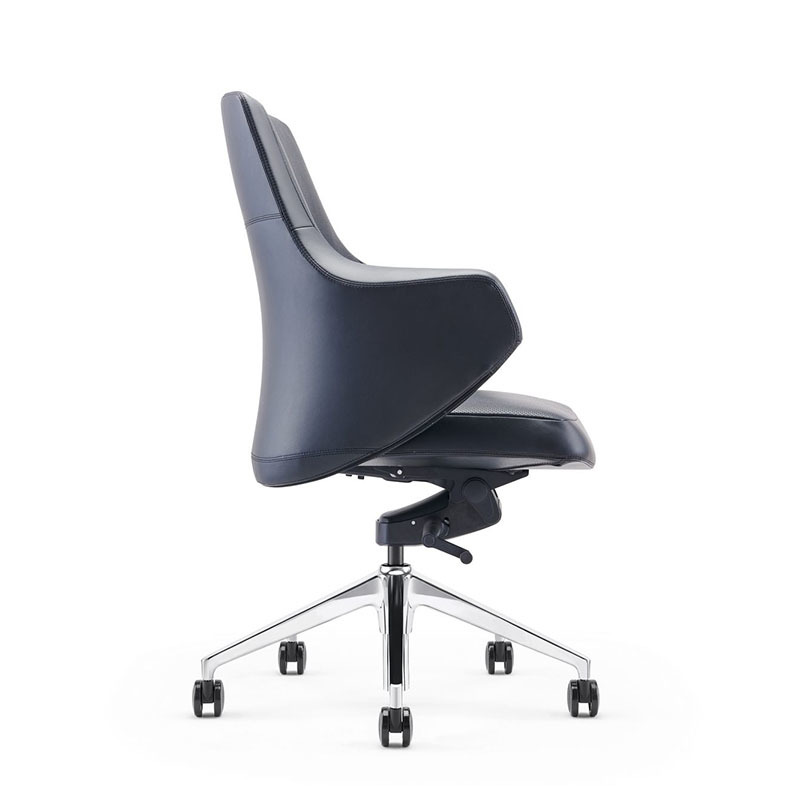 product-Heavy Duty Task Chair PU Leather 360-Degree Casters Swivel Office Chair B1927-Furicco-img-1