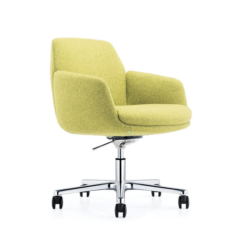 Affordable Conference Room Leather Fabric Chairs with Castors B1720-Office Chair-Home Office Chair-Executive Office Chair-Furicco