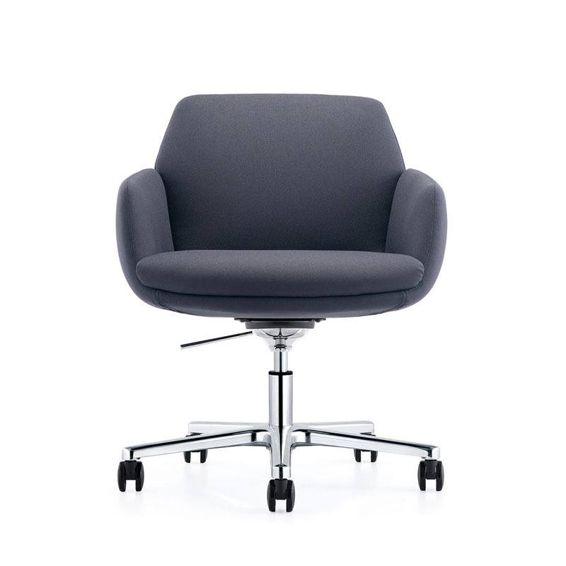 product-Furicco-Affordable Conference Room Leather Fabric Chairs with Castors B1720-img