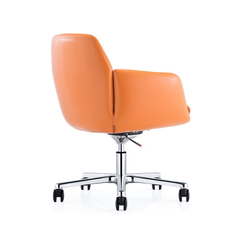 Affordable Conference Room Leather Fabric Chairs with Castors B1720-Furicco