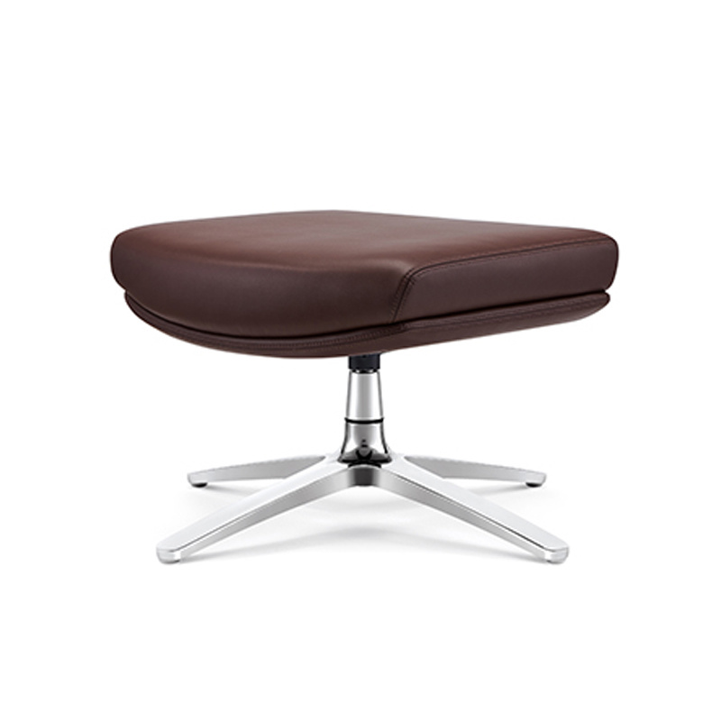 product-Furicco-Modern revolving leisure chair with footstool-img
